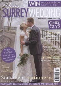 Your Surrey Wedding - Dec/Jan 2010