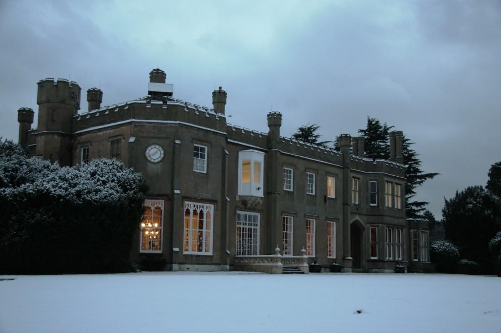 Winter Wonderland Mansion