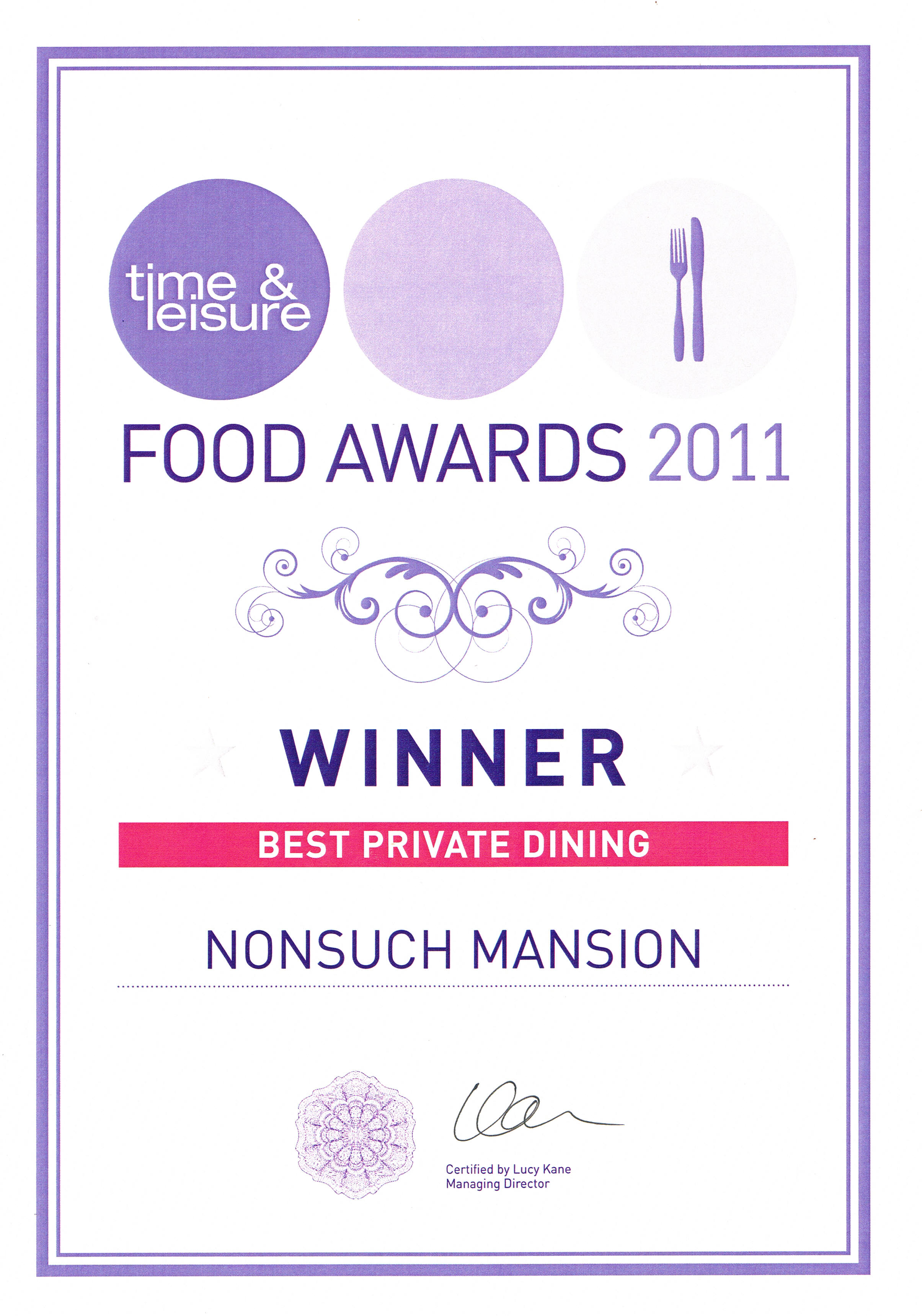 Time_and_Leisure_Food_Awards_Nonsuch_Mansion