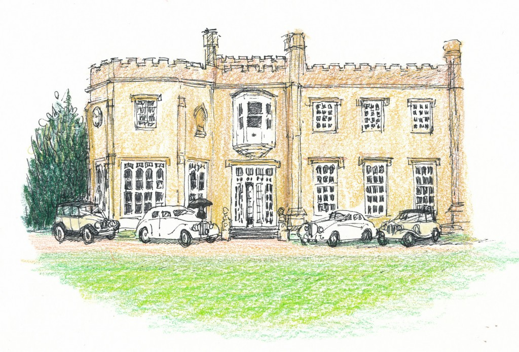 Nonsuch Mansion & Cars