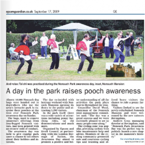 Epsom Guardian - Nonsuch Awareness Day